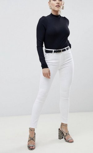 ASOS Jeans Weiß 34 Skinny Ridley