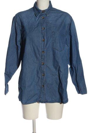 Asos Jeanshemd blau Casual-Look