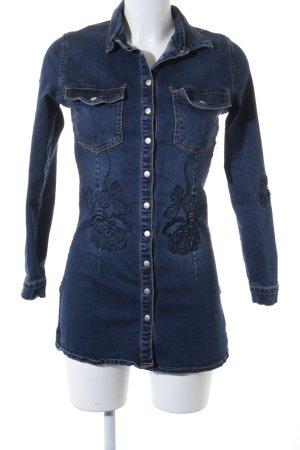 "Asos Denim Shirt ""Liquor n poker"" dark blue"