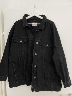 Asos Denim Jeansowa kurtka czarny