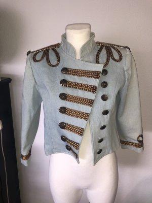 Asos Military Jacket azure-bronze-colored