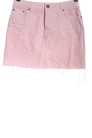 Asos Jeansrock pink Casual-Look