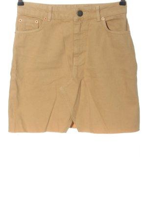 Asos Denim Skirt cream casual look