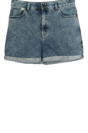 Asos Jeansowe szorty niebieski W stylu casual