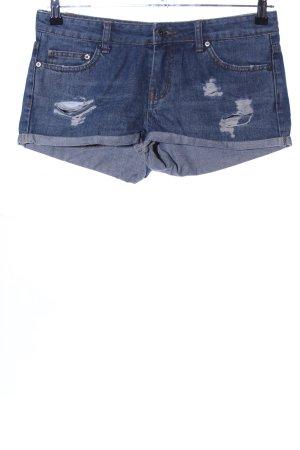 Asos Jeansshorts blau Casual-Look