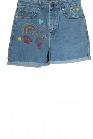 Asos Jeansshorts Motivdruck Casual-Look