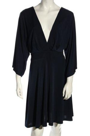 Asos Jerseykleid schwarz extravaganter Stil
