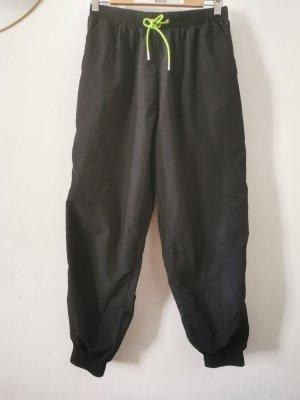 Asos Sweat Pants black-neon green