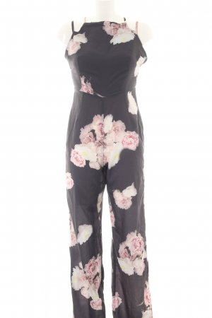 Asos Jumpsuit flower pattern casual look