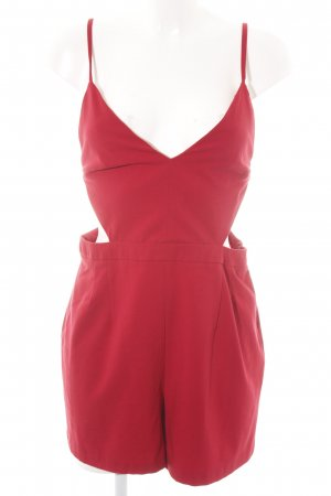 Asos Jumpsuit rot Casual-Look