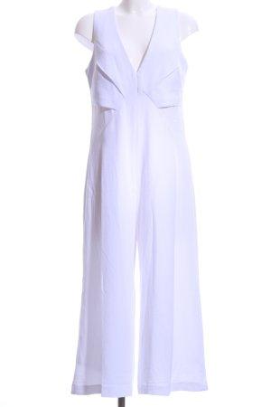 Asos Jumpsuit weiß Elegant