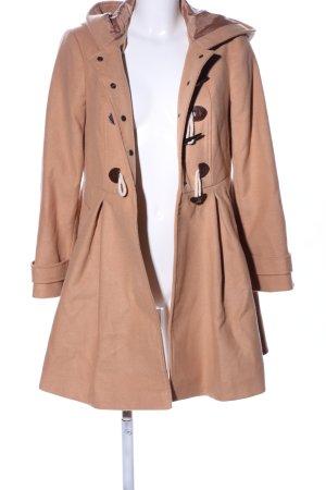 Asos Manteau à capuche rose chair style décontracté