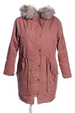 Asos Manteau à capuche rose style décontracté