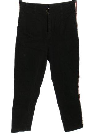 Asos Wortel jeans zwart casual uitstraling