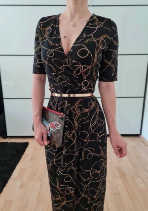 Asos Ketten Etuikleid XS S 34 36 Bleistiftkleid Cocktailkleid Bodycon Midi Kleid Dress Neu