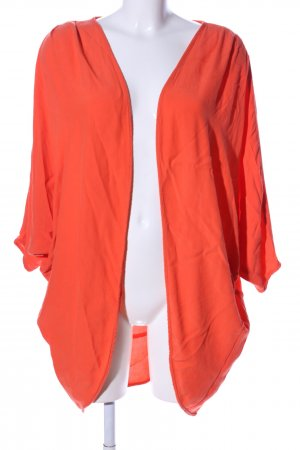 Asos Kimono orange clair motif de fleur style décontracté