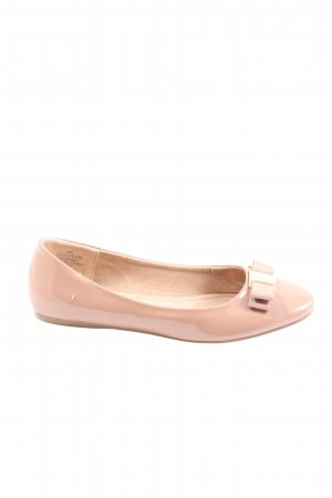 Asos Klassische Ballerinas pink Casual-Look