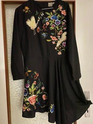 Asos Robe courte blanc-noir