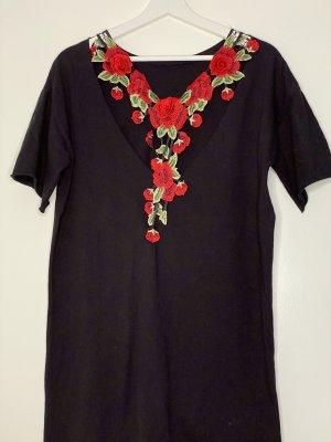 Asos Robe Sweat noir-rouge