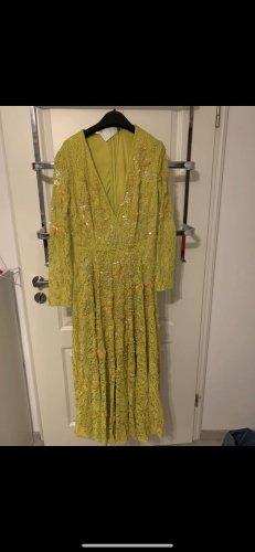 Asos Robe de soirée jaune fluo-jaune citron vert