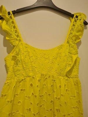 Asos Summer Dress yellow cotton