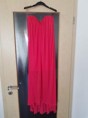 Asos Robe de soirée rouge framboise