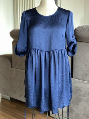 Asos Sukienka typu babydoll niebieski