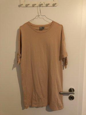 Asos T-shirt jurk abrikoos