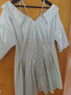 Asos Sukienka z gorsetem szaro-zielony