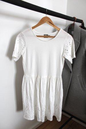Asos T-shirt jurk wit