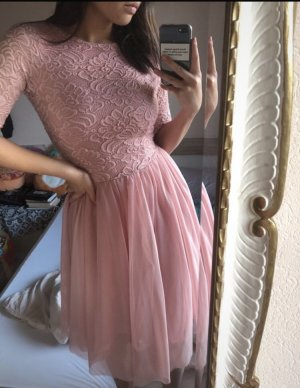 Asos Ball Dress rose-gold-coloured-pink
