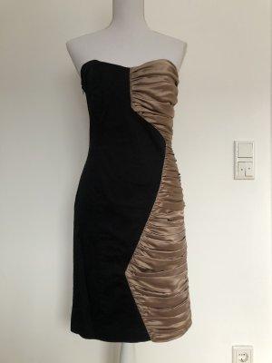 ASOS Kleid Silvester Silvesterkleid auffällig schwarz bronze
