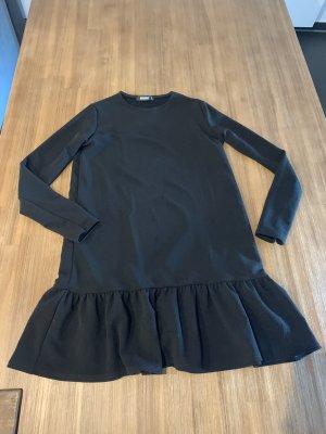 Asos Vestido de tela de jersey negro