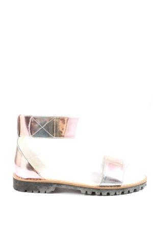 Asos Comfort Sandals pink color gradient casual look