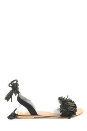 Asos Komfort-Sandalen schwarz Casual-Look