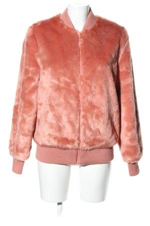 Asos Kunstfelljacke pink Casual Look