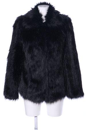 Asos Giacca in eco pelliccia nero stile casual