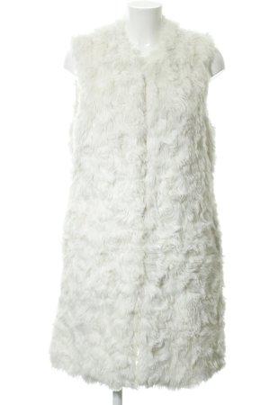 Asos Kunstfellweste weiß Elegant