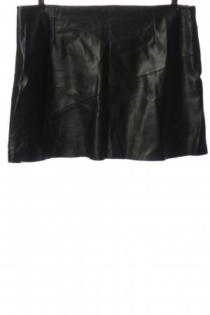 Asos Faux Leather Skirt black casual look