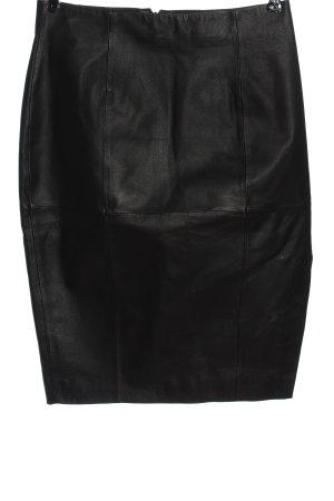 Asos Kunstlederrock schwarz Glanz-Optik