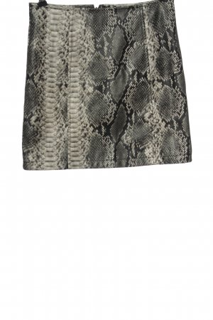 Asos Faux Leather Skirt leopard pattern casual look