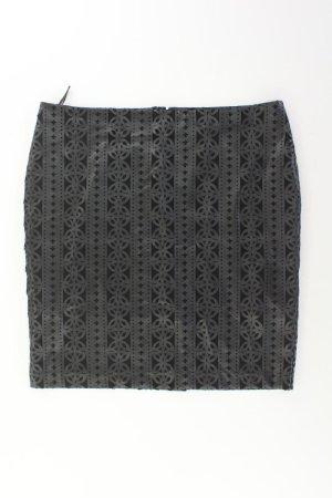 Asos Spódnica z imitacji skóry czarny