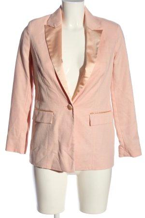 Asos Kurz-Blazer pink Business-Look