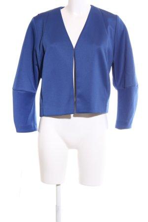 Asos Kurz-Blazer blau Casual-Look