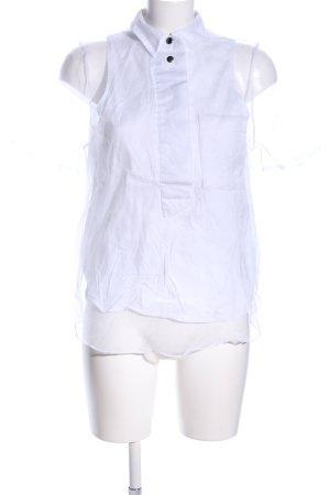 Asos Kurzarm-Bluse weiß Elegant