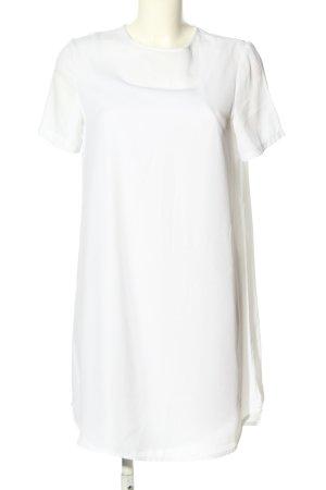 Asos Vestido de manga corta blanco look casual
