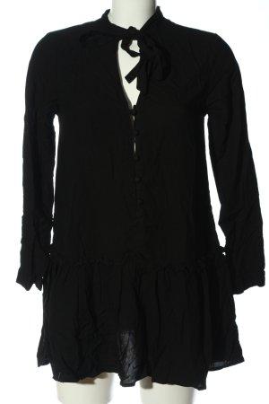 Asos Langarm-Bluse schwarz Casual-Look