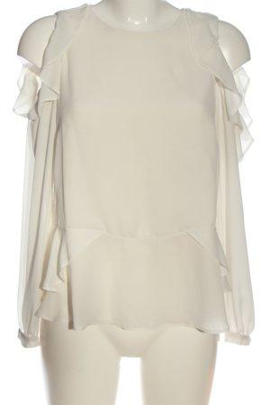 Asos Langarm-Bluse wollweiß Elegant