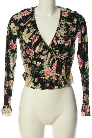 Asos Langarm-Bluse Blumenmuster Casual-Look