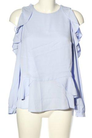 Asos Langarm-Bluse blau Casual-Look